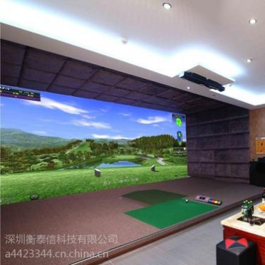 Greenjoy衡泰信城市室内高尔夫模拟器系统 Q7