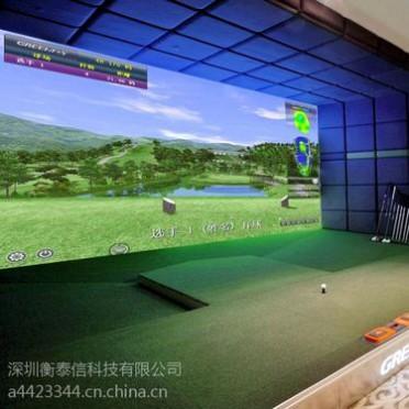 Greenjoy衡泰信城市室内高尔夫模拟器系统 Q8